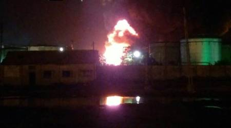 One dead in late night fire at Gujarat's KandlaPort