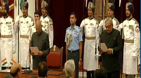 Rajiv Mehrishi, CAG, New CAG, Comptroller and Auditor General of India, India, CAG India, Ram Nath Kovind, India News, Indian Express