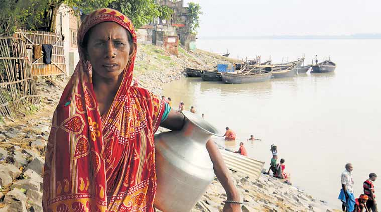 Down the Ganga: In this village, toilets do have water, but they come at aprice