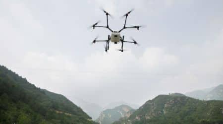 US drone strike, US drone, Pakistan, Afghanistan, Pakistan-Afghanistan border, haqqani militants, Donald trump. US-Pakistan, world news, indian express news