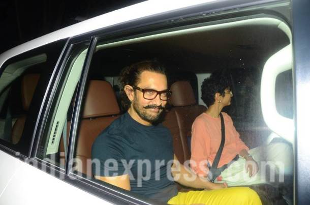 aamir khan, kiran rao, Ranbir Kapoor, Ranbir Kapoor birthday party, Ranbir Kapoor midnight bash
