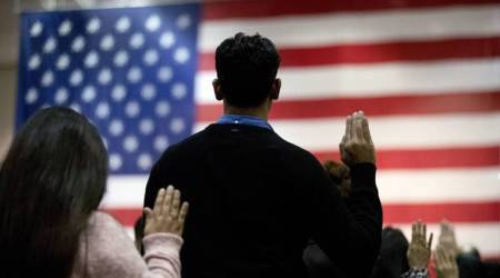 In citizenship message, Trump welcomes immigrants to America