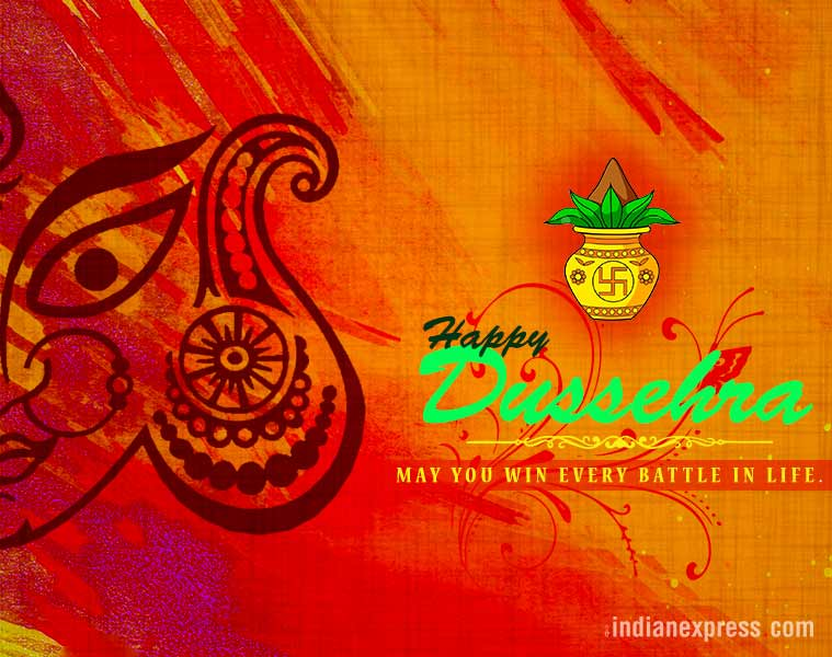 happy dussehra 2017 wishes facebook and whatsapp messages status hd wallpapers images and greetings for your loved ones lifestyle news the indian express happy dussehra 2017 wishes facebook