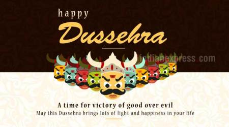 Happy Dussehra 2017: Wishes, Facebook and Whatsapp Messages, Status, HD Wallpapers, Images and Greetings for your loved ones