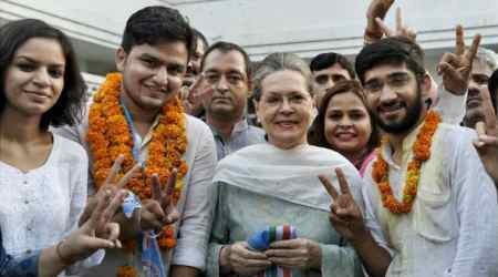 NSUI comes back from the cold inDU