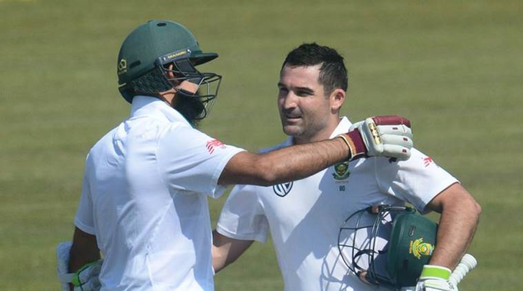 dean elgar, elgar, south africa vs bangladesh, Hashim Amla, faf du plessis, Tamim Iqbal, cricket, sports news, indian express