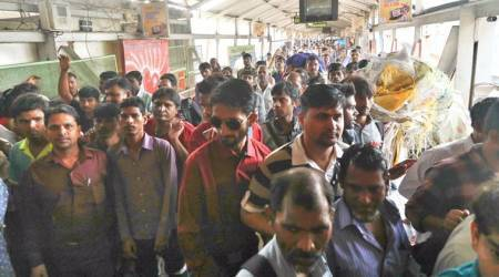 Elphinstone stampede: Woman home guards inducted to manage crowdnow
