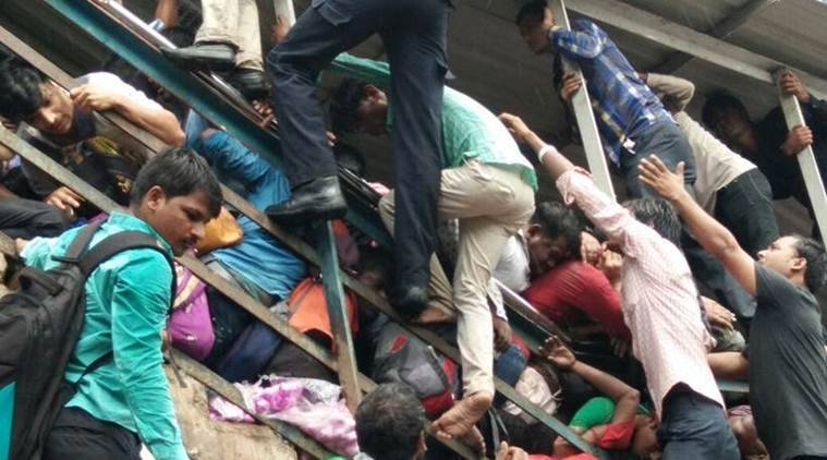 At least 22 killed in Mumbai station stampede