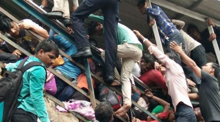 mumbai stampede, mumbai stampede deaths, elphinstone station, sonia gandhi, rahul gandhi, india news, indian express news
