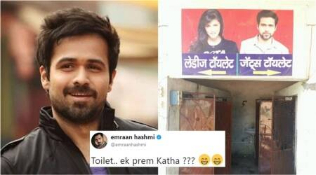 Emraan Hashmi makes a 'Toilet-Ek Prem Katha' reference on Twitter by sharing a funny photo