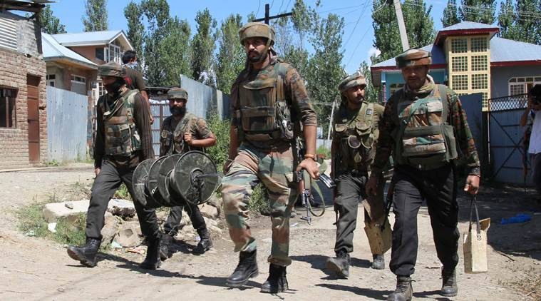 Gun Battle Between Militants And Security Forces In Baramulla, Two Militants Killed