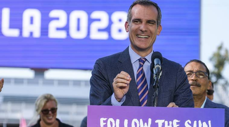 Los Angeles, 2028 Olympics, International Olympic Committee, Eric Garcetti