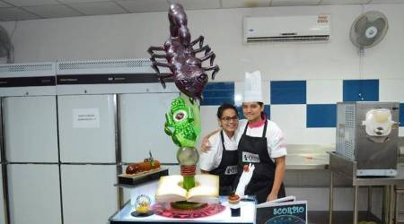 Goan girl wins Pastry Queen India 2017 and showcases sunsign scorpiodesserts