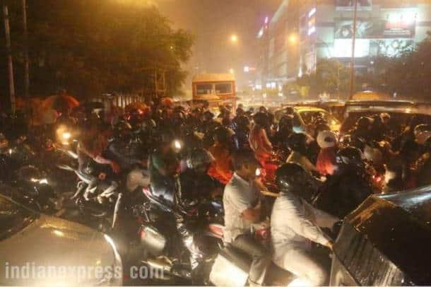 Heavy rainfall brings Mumbai to a halt once again; air, rail and traffic services disrupted