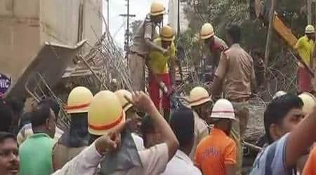 Bhubaneswar flyover collapse, flyover collapse, flyover collapse bhubaneshwar, bhubaneshwar flyover collapse dead, bhubaneshwar flyover collpase injured, bhubaneshwar, bhubaneshwar news, india news, indian express, indian express news