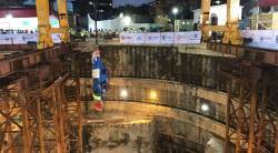 mumbai metro, mumbai underground metro, Devendra Fadnavis, tunnel boring machine, mumbai metro rail corporation, mumbai, latest news, indian express