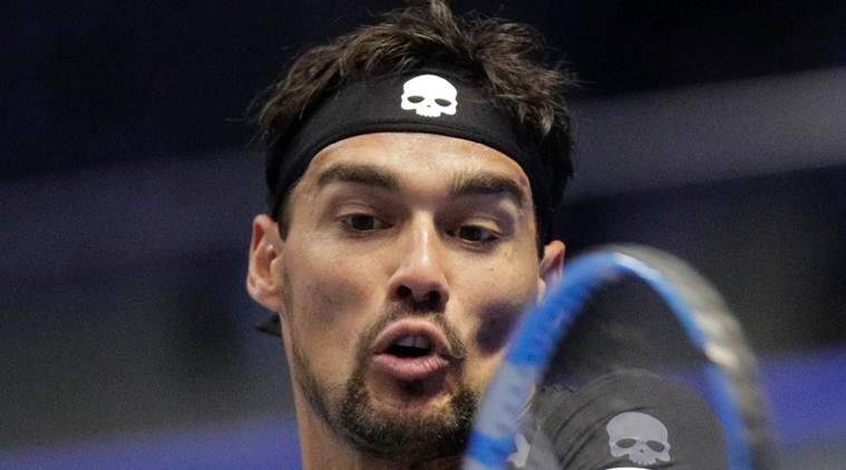 Fabio Fognini, Damir Dzumhur, St. Petersburg Open, sports news, tennis, Indian Express