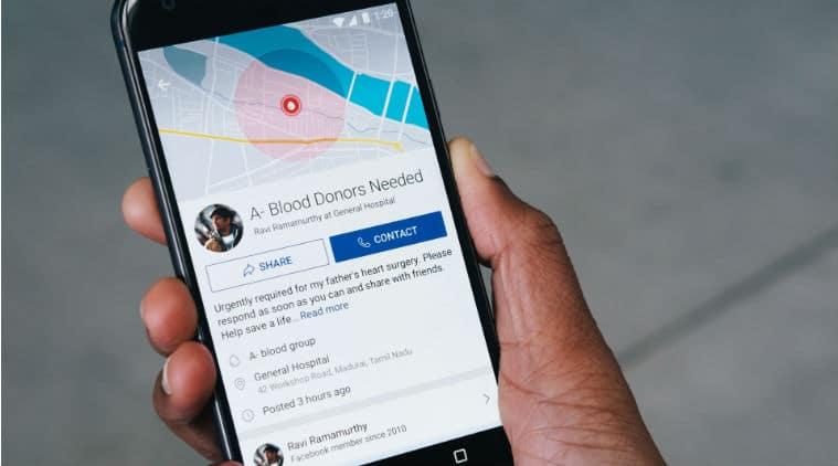 Facebook, blood donation, Facebook find blood donors, find blood donors Facebook, National Blood Donor Day