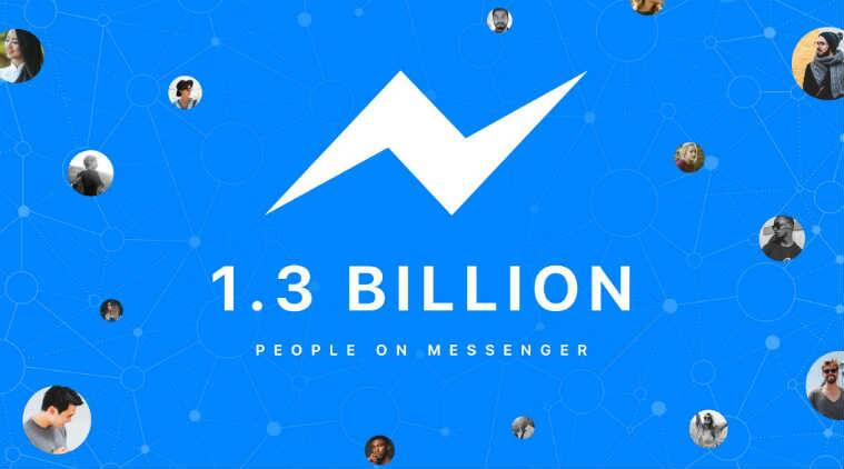 Facebook Messenger has 1.3 billion monthly active users
