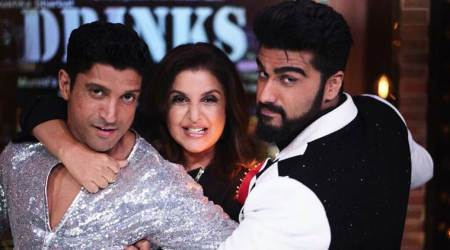 Photos: Farhan Akhtar and Arjun Kapoor bring a laugh riot on Farah Khan's Lip Sing battle