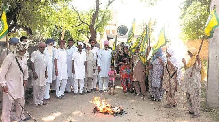 Punjab farmers, Farmer protest Punjab, Punjab farmers protest, Longowal farmer protest, Bharti Kisan Union, Patiala farmers, Bhatinda farmers, Punjab news, indian express news