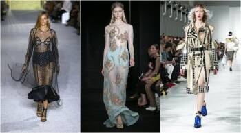 Paris Fashion Week 2017 From Chanel S Transparent Boots To Celine S Oversized Trench Coats Lifestyle Gallery News The Indian Express