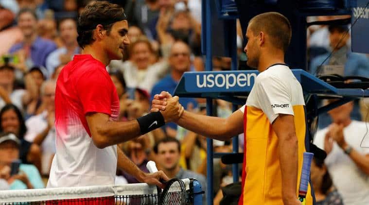 Roger Federer US Open Mikhail Youzhny sports news tennis Indian Express