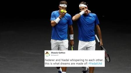 Roger Federer and Rafael Nadal team up and Twitterati just can't handle it