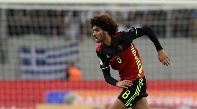 Marouane Fellaini, wayne rooney, fellaini, manchester united, wayne rooney drunk driving, rooney scandal, football, sports news, indian express