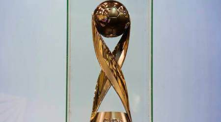 FIFA U-17 WC Trophy arrives in Kerala