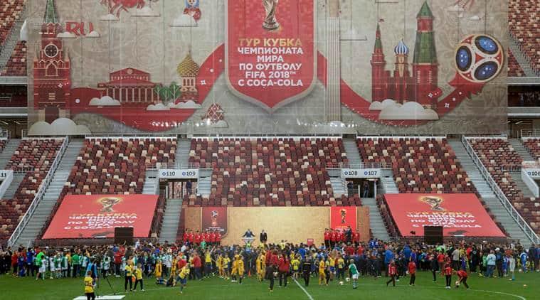 Russia vs Argentina, FIFA 2018 World Cup, Luzhniki stadium, Moscow Olympics