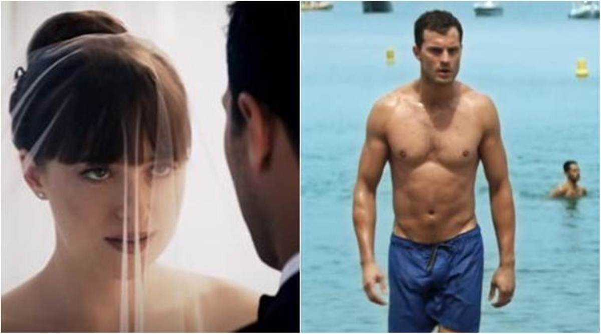 Watch Fifty Shades Freed Teaser Christian Grey Anastasia Steele Start A New Life But Their Fear Is Not Yet Over Entertainment News The Indian Express