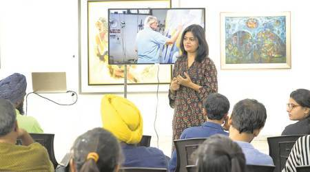 Documentary film on Krishen Khanna screened at exhibition