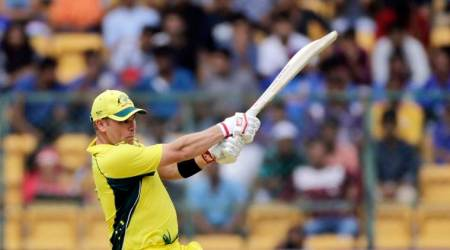 Aaron Finch scores 94, becomes leading run-scorer in India-Australia ODI series