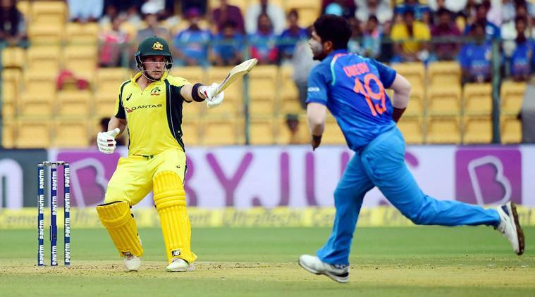 Aaron Finch, india vs australia, ind vs aus