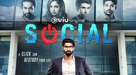 First look poster of Rana Daggubati's first web series Social is out