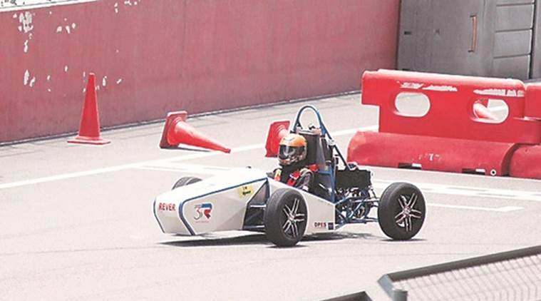supra saeindian formula 2017, supra formula race 2017, dhole patil college of engineering, kharadi, team screw drivers, buddh international circuit, formula prototype car, indian express