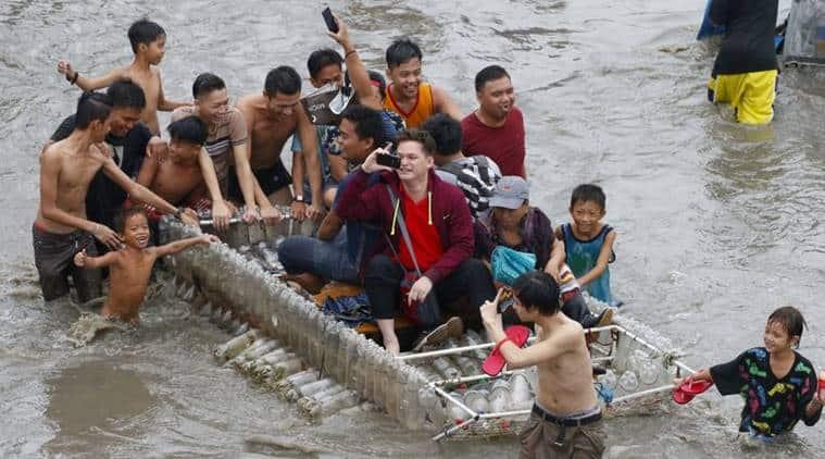 heavy rainfall phillipines, landslides phillipines, people die landslide phillipnes, floods phillipines, world news, indian express news