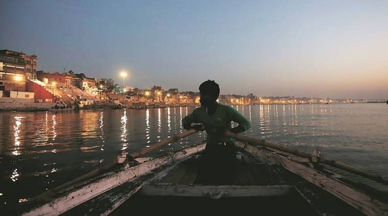 Work initiated to stop flow of garbage in River Ganga