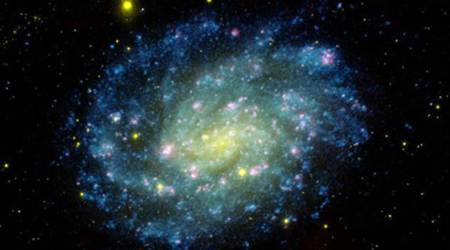 Eating habits of black holes make some galaxies appearbrighter