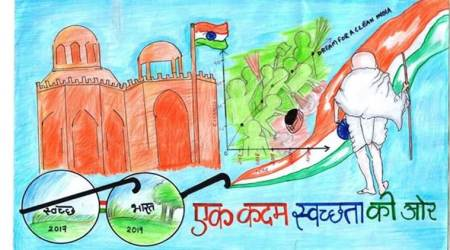 From Kameng to Kanker, paintings by children depicting Swachh Bharat campaign