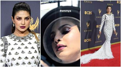 Emmys 2017: A round-up of Priyanka Chopra's head-turning appearance