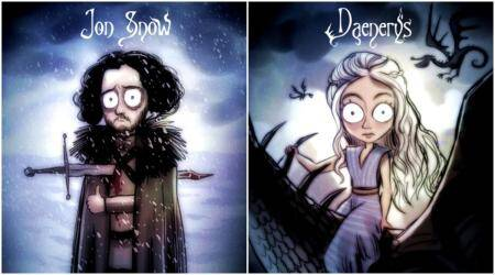 What if Tim Burton made GAME OF THRONES, a dark fantasy?
