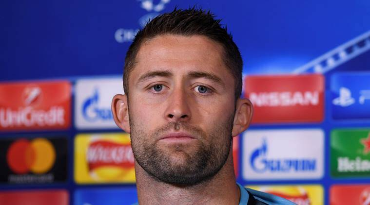 Gary Cahill, Gary Cahill Chelsea, Gary Cahill Champions League, Chelsea, Champions League, sports news, football, Indian Express