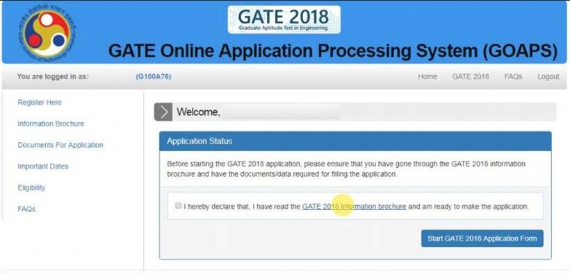 PHOTOS: GATE 2018: Follow this 8-step guide to fill application ...