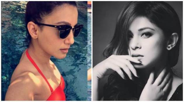 Gauahar Khan, Jennifer Winget, Jennifer Winget photos, Gauahar Khan bikini photo, Gauahar Khan holiday