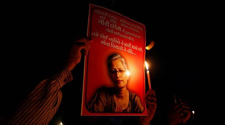 gauri lankesh, journalist murder, bengaluru journalist, lankesh, karnataka, kannada journalist murder, bengalore editor murder, indian express