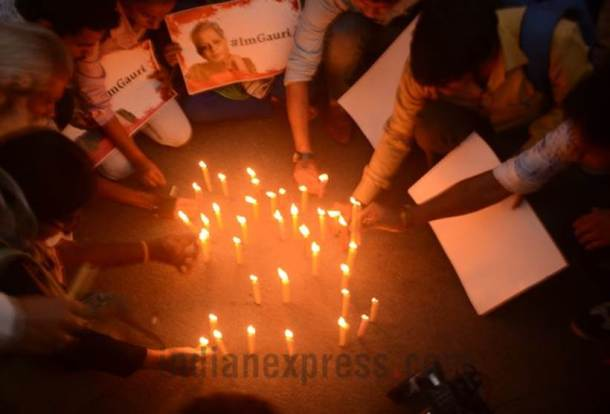 Gauri Lankesh's murder sparks protests across the country