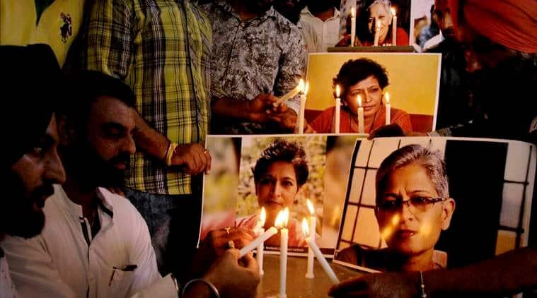 Gauri Lankesh murder, Gauri Lankesh, journalist murder case, BJP, BJP on Gauri Lankesh murder case, indian express news