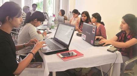 Wikipedia page, Feminism in India, Gender Based Awareness Project, Neha Choksi, WiKipedia Edit-a-thon, Lifestyle News, Indian Express, Indian Express News